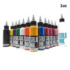 12 Color Spectrum Set — Solid Ink — 1oz Bottles