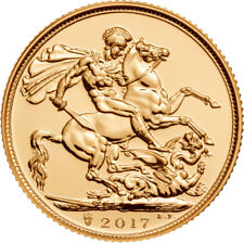 2017 Great Britain Gold Sovereign UK 200th Anniversary Privy.