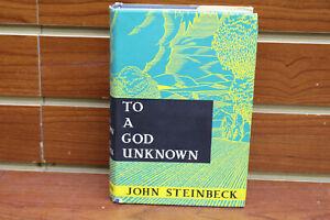 To A God Unknown ~ JOHN STEINBECK ~ First Edition 1935 1st  Heinemann, London