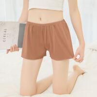 Women Ladies Summer Safety High Waist Short Pants Loose Solid Underwear Shorts