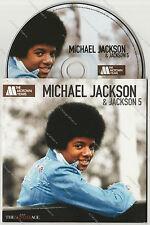 The Motown Years Michael Jackson & Jackson 5 Cardsleeve Promo The Sunday Age 7Tk
