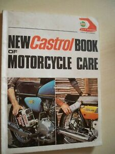 VINTAGE HAYNES/CASTROL BOOK OF MOTORCYCLE CARE  -  DATED 1975.