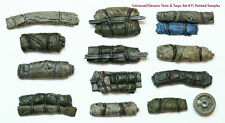 1/35 Scale resin kit Tents & Tarps Set  #11 Military model accessory