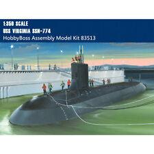 HobbyBoss 83513 1/350 Scale USS Virginia SSN-774 Attack Submarine Plastic Model