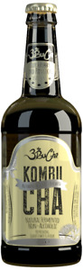 Authentic Real Handcrafted Kombucha Tea - Raw, Alive, Vegan [ELDERFLOWER]