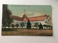 Vintage Postcard Unposted The Pavilion Sacramento CA California