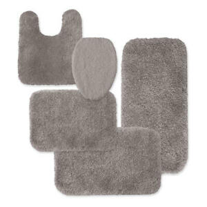 Colormate Universal Microfiber Lid Seat Cover Only Grey