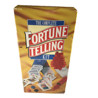 The Complete Fortune Telling Kit Complete 1988 Francis X. King Tarot Spiritual