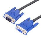 High Quality 6 ft feet VGA Extension Cable LCD TV Male to Female 15-pin Cord
