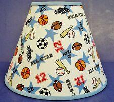 Baseball Football Soccer Basketball Balls White Handmade Lampshade Lamp Shade