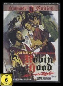 DVD ROBIN HOOD - DER ROTE RÄCHER - HAMMER EDITION - HAMMERFILM *** NEU ***