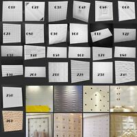 3D Wall Sticker Panels Brick Stone Self-adhesive Wallpaper Room Decor Waterproof