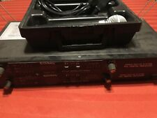 2 Samson PR-50 Wireless Receivers, 1 Samson-Sh-SM58 Wireless Transmitter Mic