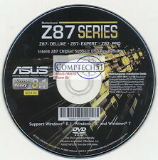ASUS GENUINE MOTHERBOARD SUPPORT DISK Z87 DELUXE REV625.06 M3130