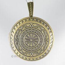 Magic Box - Medaillon groß gold Anhänger Amulett zum Öffnen Kettenanhänger |Rmg3