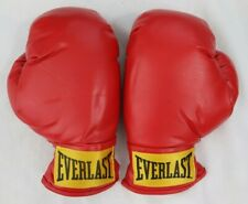 Everlast Laceless Heavy Bag Mitt Work Training Boxing Gloves Size Small S/M Red