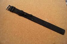 LADIES BLACK LEATHER TED BAKER WATCH STRAP WITH BOW 17MM
