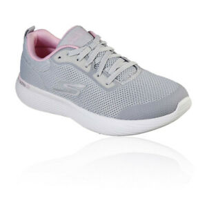 Skechers Womens GoRun 400 V2 Proficient Running Shoes Trainers Sneakers Grey