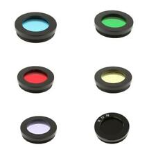 "1.25"" Telescope Color Filter Set Kit for Celestron Eyepiece Moon Planet 6Pcs"