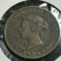 CANADA 1893 LARGE CENT BETTER GRADE COIN