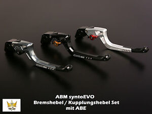 Abm Syntoevo Ducati Monster 1100 Année Fab. 09- Levier de Frein Kit Avec ABE