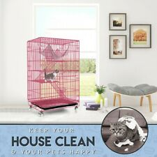 """� 30"""" 3-Tier Guinea Pig Glider Chinchilla Ferret Rat Mice Small Animal Pet Cage"""