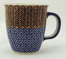 Bunzlauer Keramik Tasse MARS - 0,3 Liter, (K081-KZ10) Neues Muster von D.Koziara