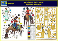 FIGURES Masterbox 1:32 - Napoleons Red Lancer, Napoleonic Wars Series mas3209
