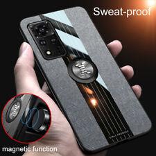 For Honor View 40 V40 Lite V30 Pro V20 V10 Cloth Case Magnetic Ring Holder Cover