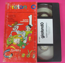 VHS film SUPER CARTOON 1 Bugs bunny Duffy duck Helmer Porky pig (F67) no dvd