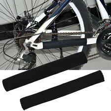 2pcs Ciclismo bicicleta bici marco cadena estancia cubierta del cojín Protector