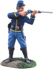 BRITAINS 31063 AMERICAN CIVIL WAR UNION CAVALRY TROOPER STANDING FIRING 1 nv