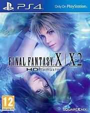 Final Fantasy X/X-2 HD Remaster PS4 PAL ESPAÑA NUEVO CASTELLANO X X2