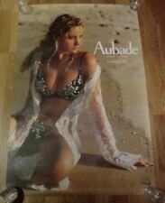 AUBADE Advertising Poster 93cm x 63cm Sexy Lingerie Nude, Lotus, Colour