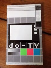 Vtg Do-TV Internet Cyber Hacker Punk Art Installation NYC Book Softcover 2000