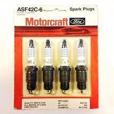 Motorcraft Ford Spark Plugs, ASF42C-6, K4, PLUG TYPE: Copper Core Suppressor