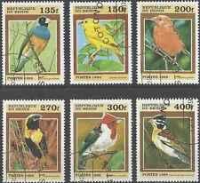 Timbres Oiseaux Bénin 862/7 o lot 3422