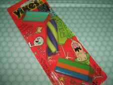 Rare Vintage 1993 Carded Yikes Eraserama erasers rubbers gommes gommine