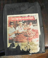 Pass a Good Time with Justin Wilson   8 Track Cartridge Tape (RP)