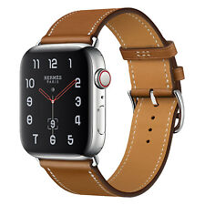 38/42mm 40/44mm genuino cuero reloj banda correa para APPLE IWATCH serie 5 4 3 2