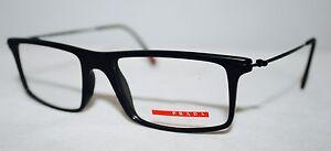 Brand New Unisex Prada Glassses Model VPS03E 1BO-1O1 & Free SV Lenses