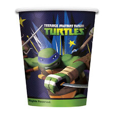 TMNT Teenage Mutant Ninja Turtles Party Supplies Paper Cups  (Pack of 8)