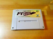 GAME/JEU SUPER FAMICOM NINTENDO NES JAPANESE F-1 Grand Prix Japan SFC SHVC FG **