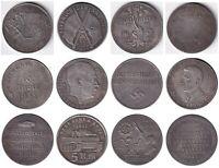 Megalot Exonumia set of 42 token Germany. third Reich. Adolf Hitler.