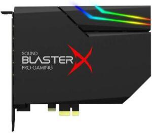Creative Sound BlasterX AE-5 Plus  (interne PCI-e RGB Gaming Dolby Soundkarte)