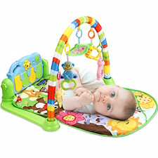 Luchild Baby Piano Gym mat, New-Born Baby Fitness and Activity Music Play mats 0