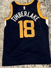 2018 Utah Jazz Personalized Nike Game Jersey Gifted To Justin Timberlake Size L
