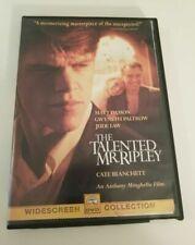 The Talented Mr. Ripley Dvd Original Excellent Condmatt Damon Gwyneth Paltrow