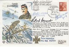 HA40 signed R.Beamont & 4  Battle of Britain pilot, crew
