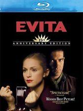 Blu Ray EVITA. Madonna, Antonio Banderas. Region free. New sealed.